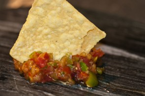 Tomatoes Transformed: Peach Salsa