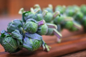 Thanksgiving Done Healthy: Apricot Brussels Sprouts