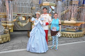 Prince Charming was hanging out, but I need to get rid of Cinderella.