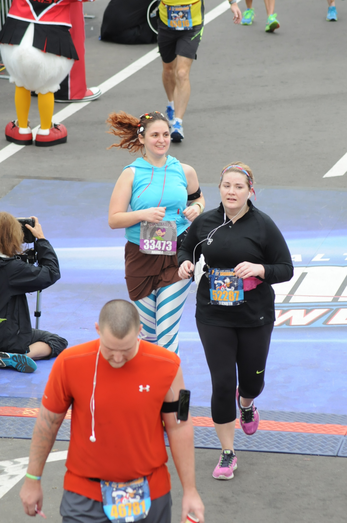 Running the inaugural dopey challenge day