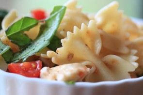 Caprese My Way: Easy Caprese Bowtie Pasta Salad