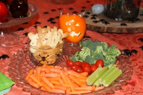 Small Scare: Healthy Veggies for Halloween