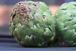 Artichokes: Defeat by Edible Hedgehog